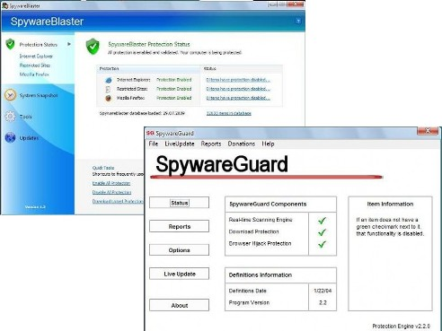 19.spyware blaster and guard