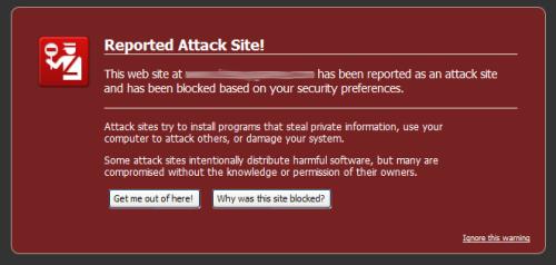Firefoxi hoiatus