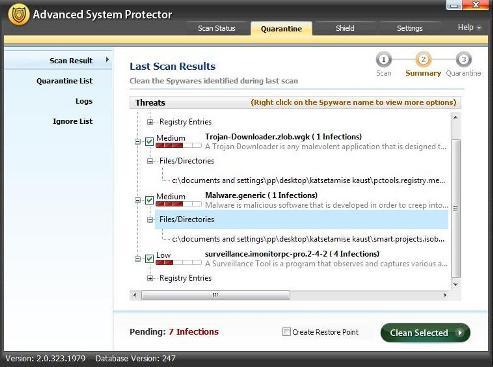 8.viies puhastus advanced system protector