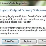 2Outpost security suite registration