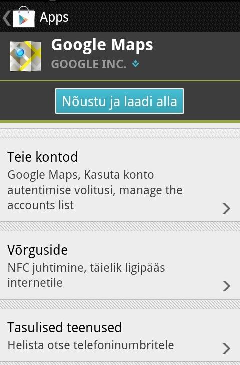 Google Maps - praktiliselt pole õigust, mis siit puuduks