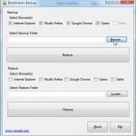 1.Järjehoidjate taastamine – Firefox, Opera, Internet Explorer
