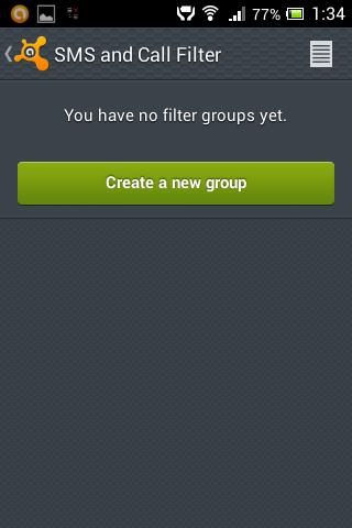 7Nutitelefoni SMS filter