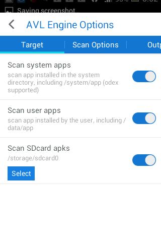 5Viiruste otsimine androidis